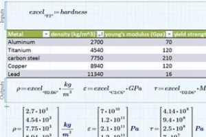 PTC Mathcad视频演示 - Excel组件