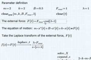 PTC Mathcad视频演示 - 符号