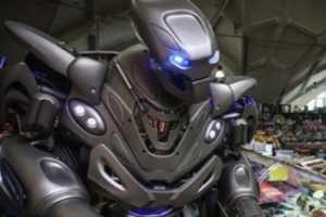 全球超人气高仿智能机器人Titan(泰坦)将震撼亮相SIMM2015深圳机械展!