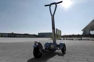 2015 国际橡塑展:全球首部e-Floater电动滑板车登陆中国