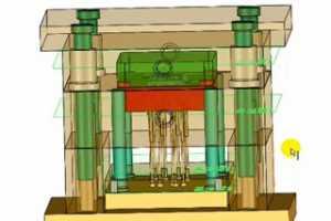05 顶针 - SOLIDWORKS 3DQuickMold 模具设计全过程