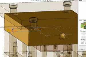 06 水路 - SOLIDWORKS 3DQuickMold 模具设计全过程