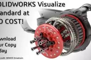 【最新消息】SOLIDWORKS工具-渲染免费啦!