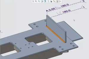 组合焊接的改进 - Creo 4.0焊接新功能视频