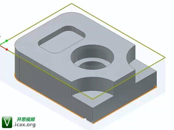 InventorCAM 2014 iMachining Training - Exer #3_ Define the rough machining of th.jpg
